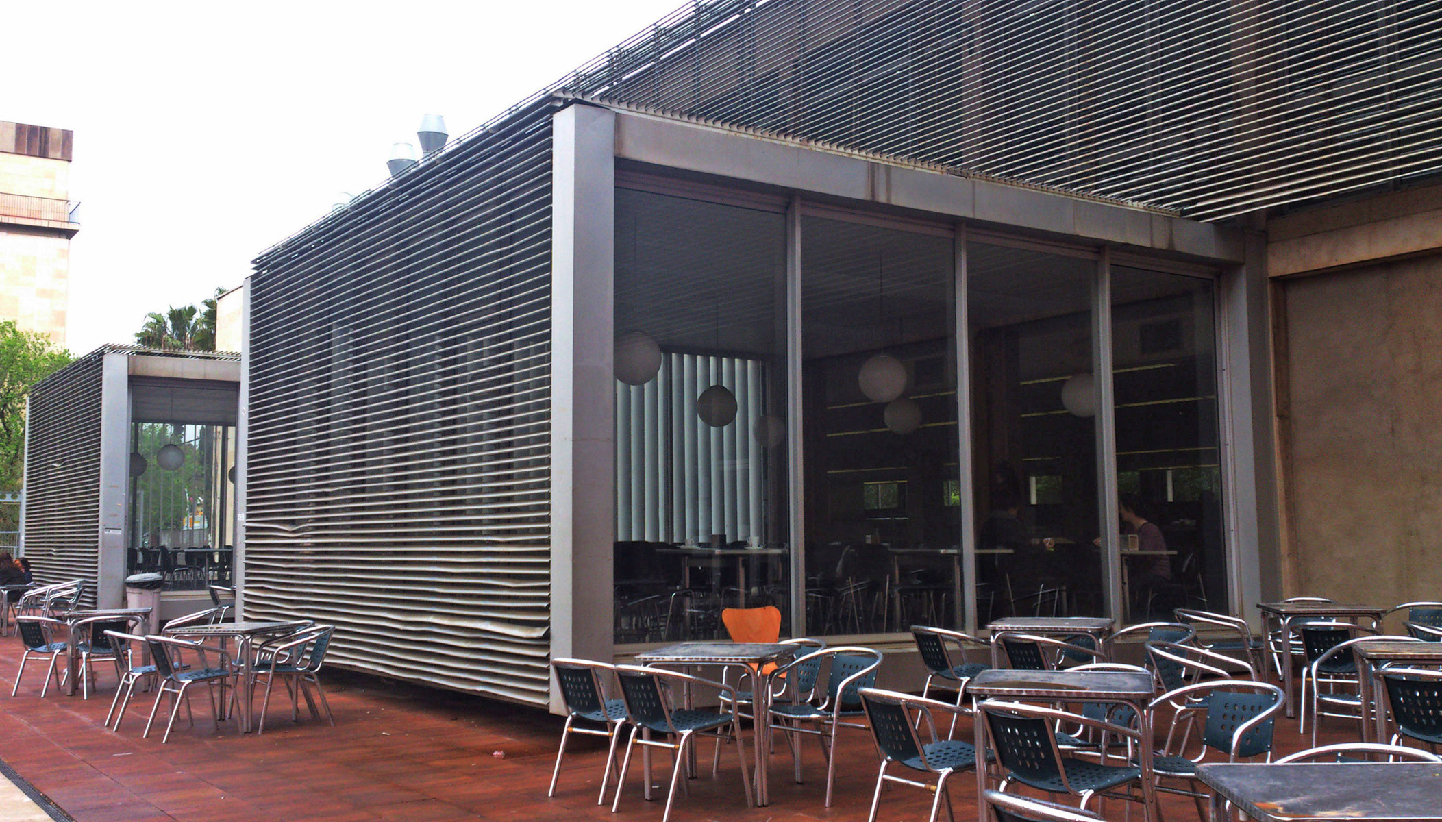 Terrace sunroom on architecture school in barcelona 358 for School terrace