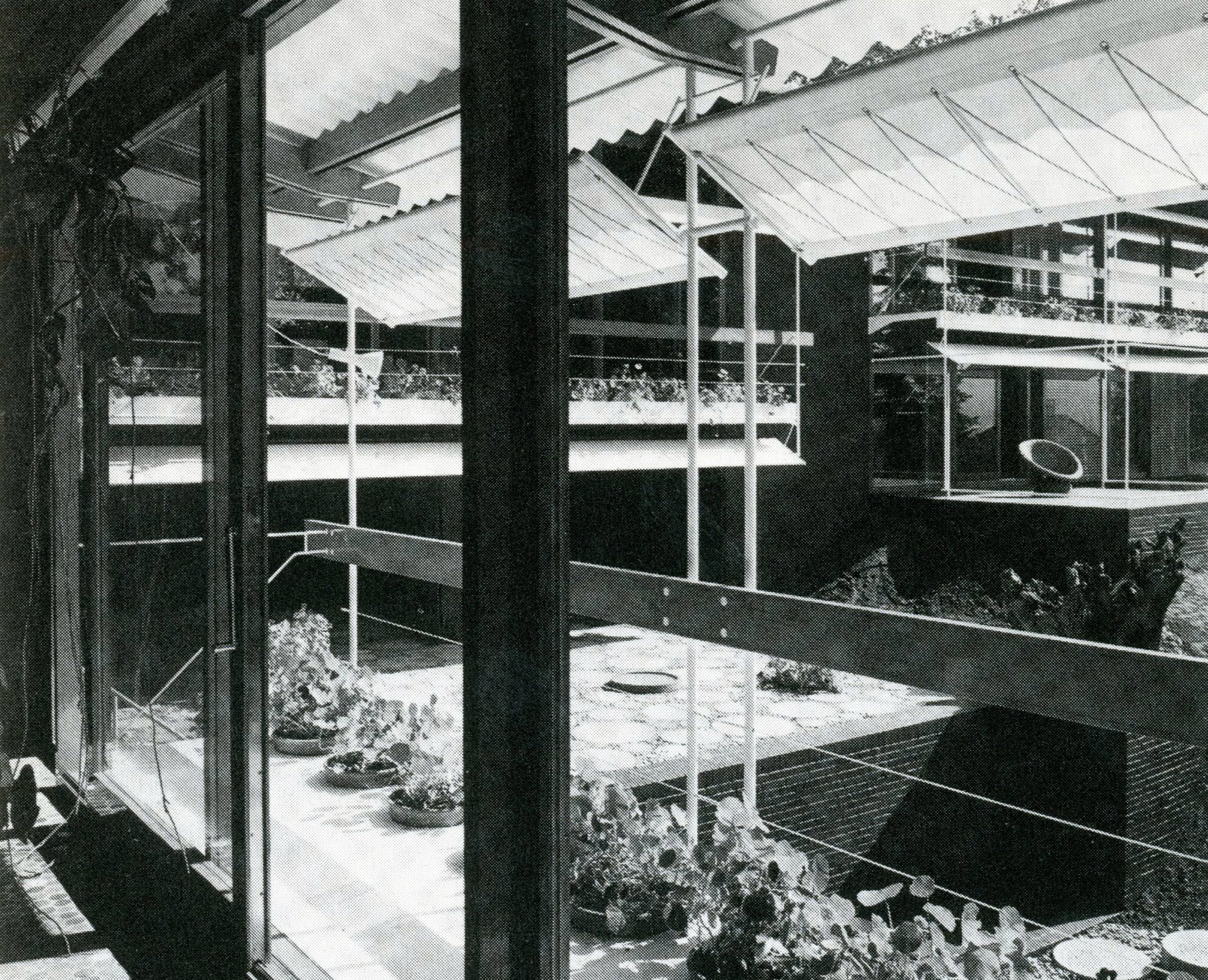 Pivoting Awnings In A House By Egon Eiermann 298 Filt3rs