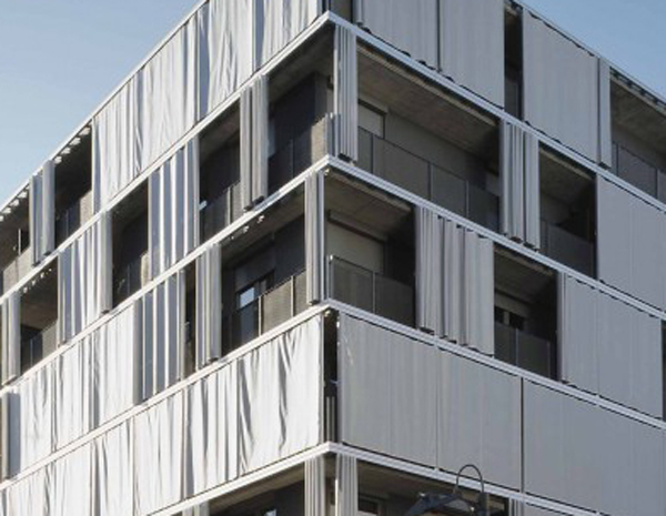 Wonderful Exterior Curtain As Solar Shading In Zurich By AGPS [306]