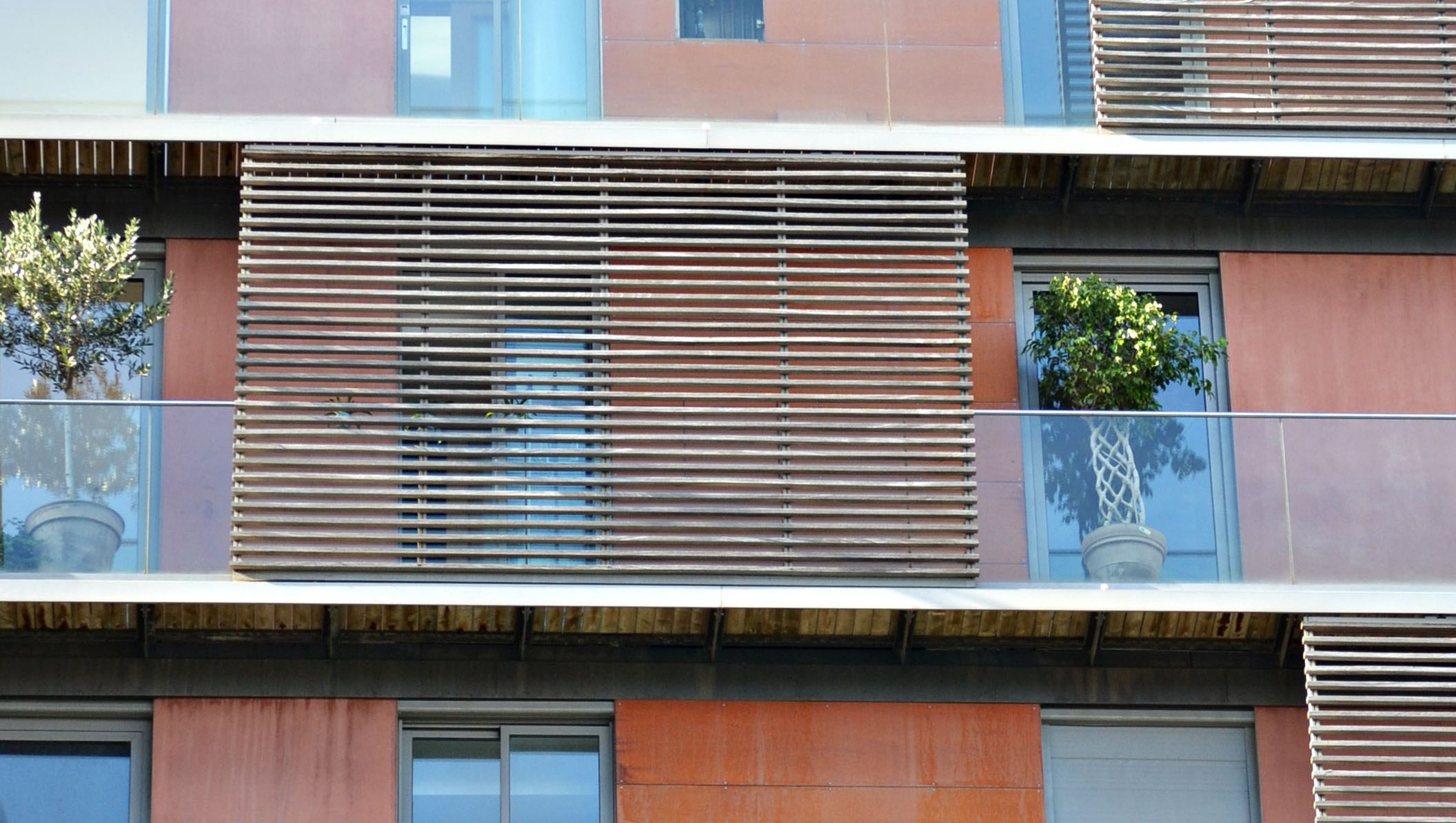 exterior wodden louvered shutter as sliding lattice  221