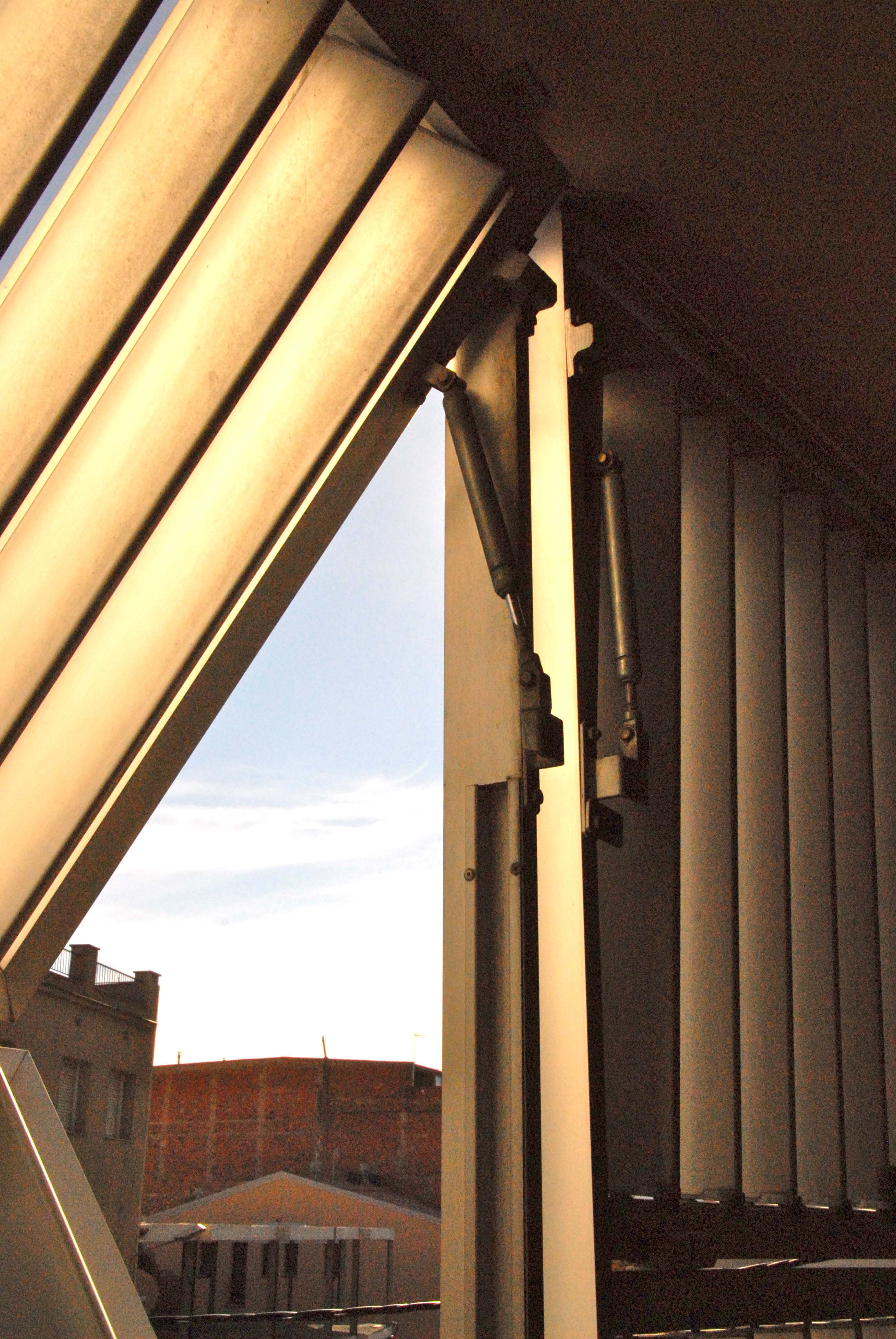 Vertical Folding Sliding Louvered Shutters In Igualada