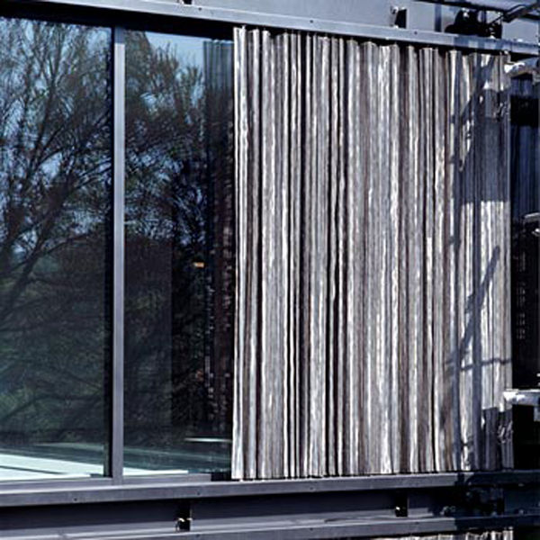 Sliding Wall Panels And External Metal Curtains AGPS 305