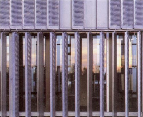Vertical Louvers Of Steel And Glass 154 Filt3rs