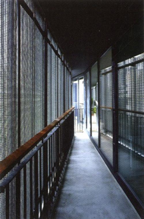 Drilled Folding Sliding Metal Panels In Paris By H Amp Dm 576