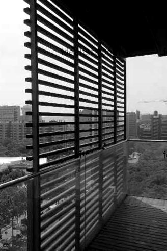 Lattice Roller Shutter And Curtains In Barcelona 172