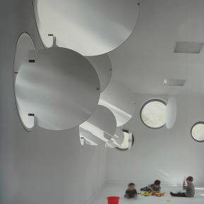 Link: Round interior solid shutters [040]