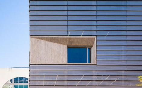 Link: Perforated horizontal louvered façade on Ceuta library [252]
