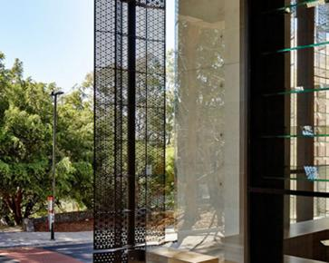 Link: Microperforated vertical louvers in zero-energy building [530]