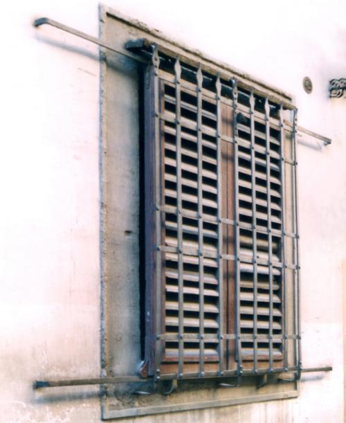 Grate and shutter in Firenze