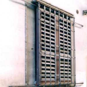 Grate and shutter in Firenze